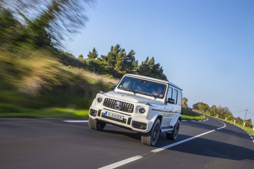 DRIVEN: 2019 Mercedes-AMG G63 – high-rise athlete Image #888441