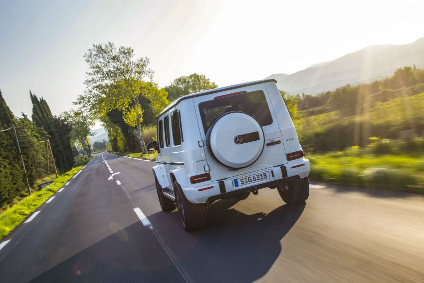 DRIVEN: 2019 Mercedes-AMG G63 – high-rise athlete Image #888444