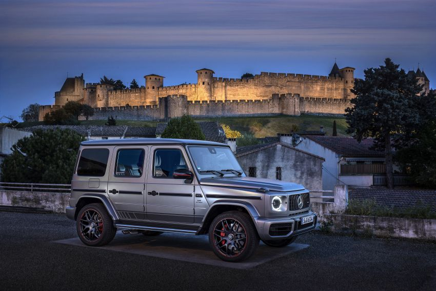 DRIVEN: 2019 Mercedes-AMG G63 – high-rise athlete Image #888446