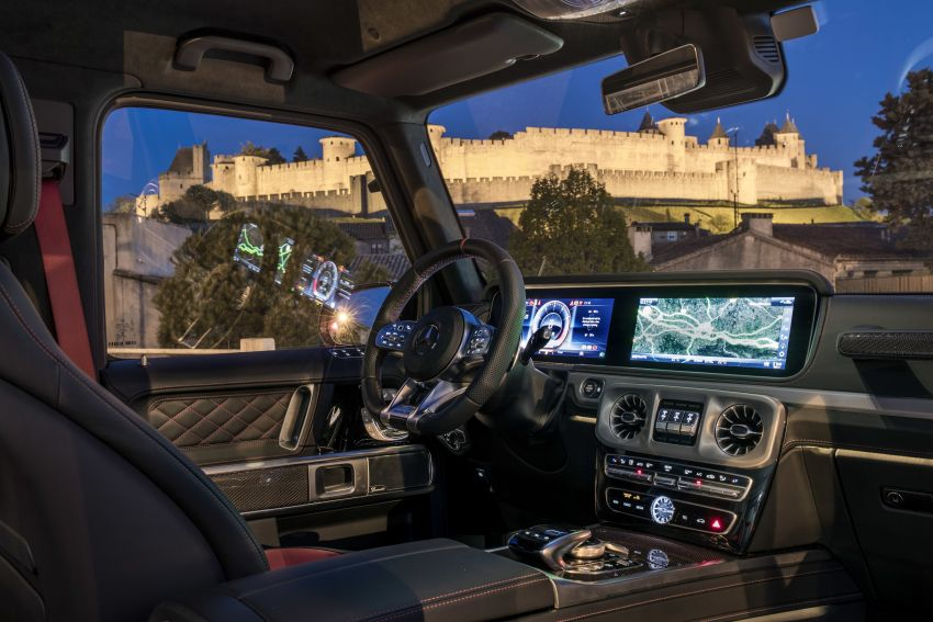 DRIVEN: 2019 Mercedes-AMG G63 – high-rise athlete Image #888447