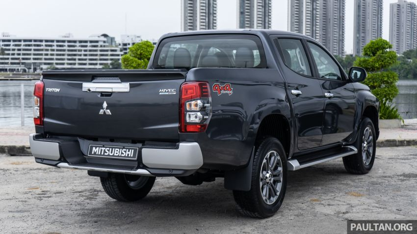 2019 Mitsubishi Triton facelift debuts in Thailand – updated design, new six-speed auto, improved safety Image #887234