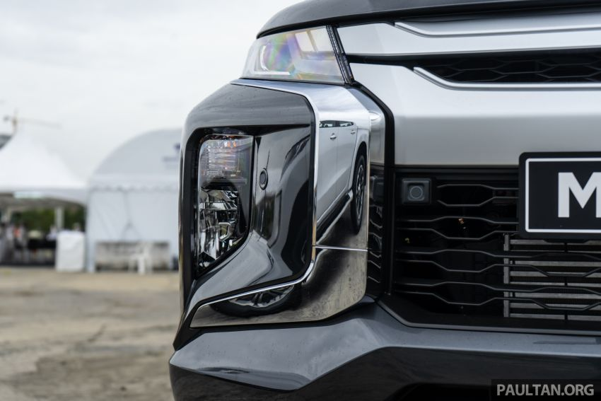 2019 Mitsubishi Triton facelift debuts in Thailand – updated design, new six-speed auto, improved safety Image #887236