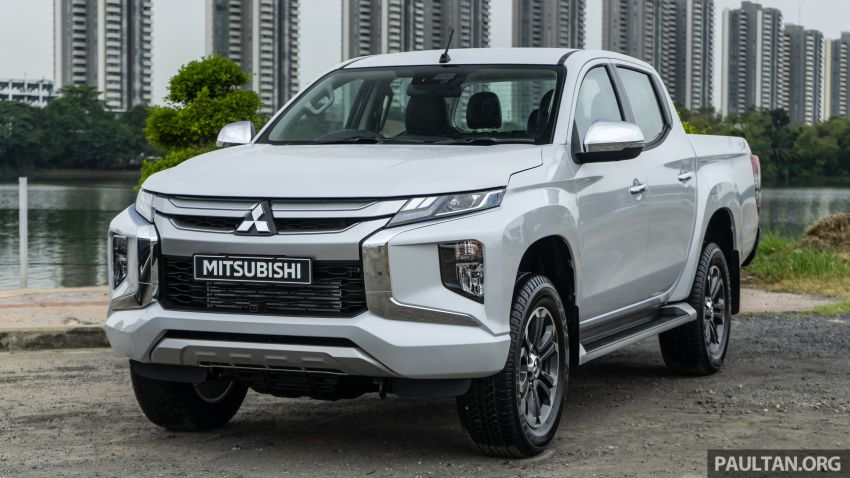 2019 Mitsubishi Triton facelift debuts in Thailand – updated design, new six-speed auto, improved safety Image #887221