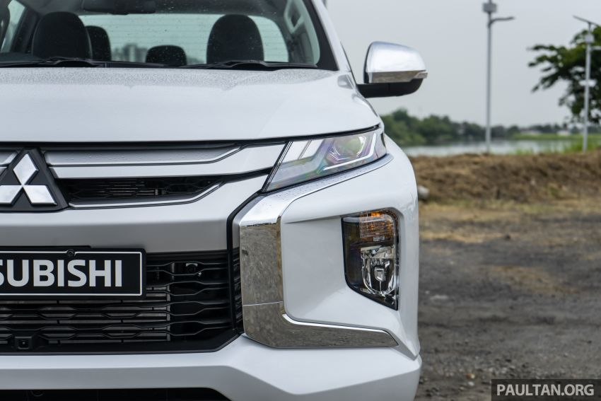 2019 Mitsubishi Triton facelift debuts in Thailand – updated design, new six-speed auto, improved safety Image #887223