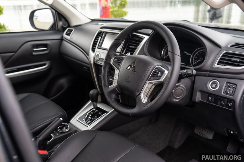 2019 Mitsubishi Triton facelift debuts in Thailand – updated design, new six-speed auto, improved safety Image #887239