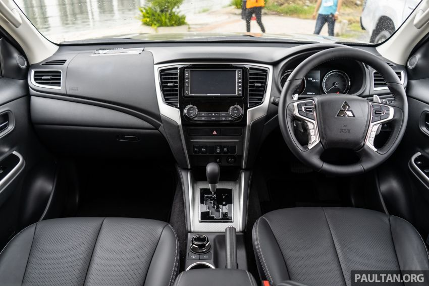 2019 Mitsubishi Triton facelift debuts in Thailand – updated design, new six-speed auto, improved safety Image #887241