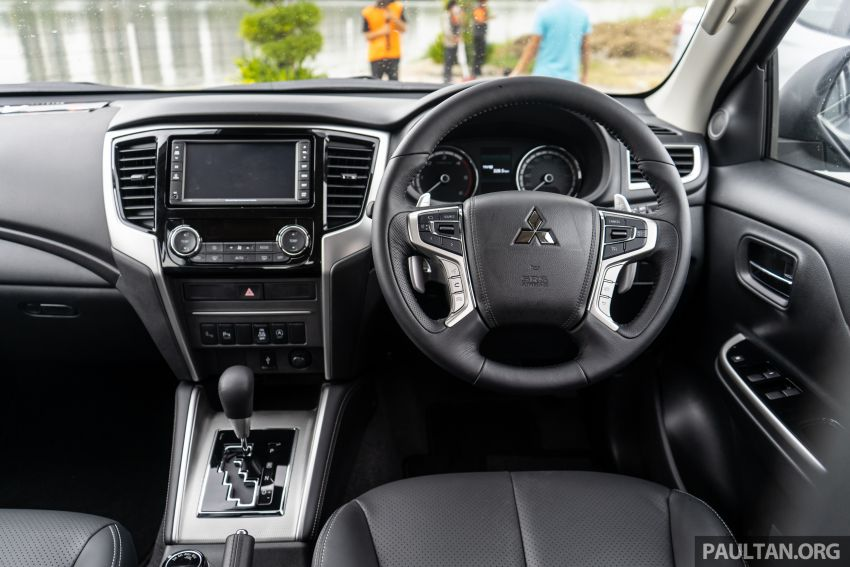 2019 Mitsubishi Triton facelift debuts in Thailand – updated design, new six-speed auto, improved safety Image #887242