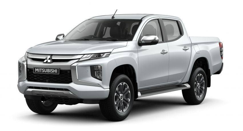 2019 Mitsubishi Triton facelift debuts in Thailand – updated design, new six-speed auto, improved safety Image #886601