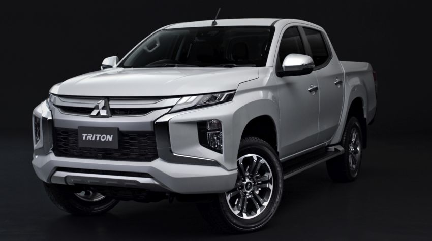 2019 Mitsubishi Triton facelift debuts in Thailand – updated design, new six-speed auto, improved safety Image #886612
