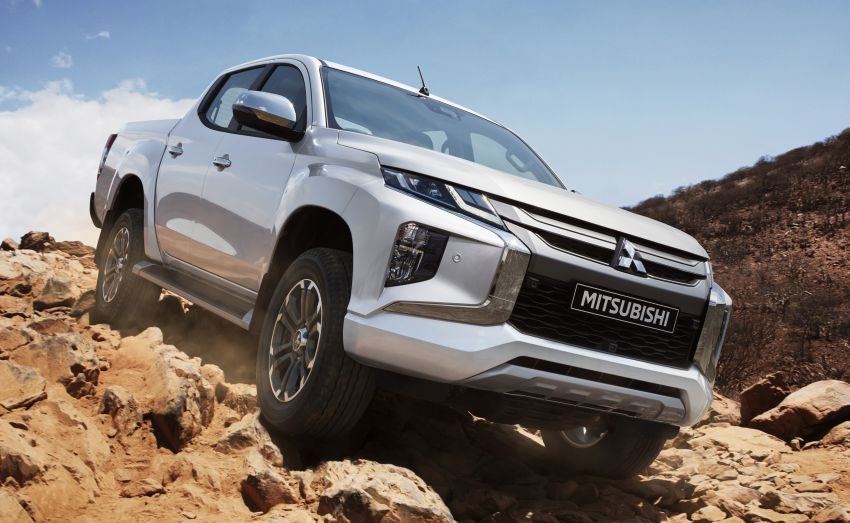 2019 Mitsubishi Triton facelift debuts in Thailand – updated design, new six-speed auto, improved safety Image #886613