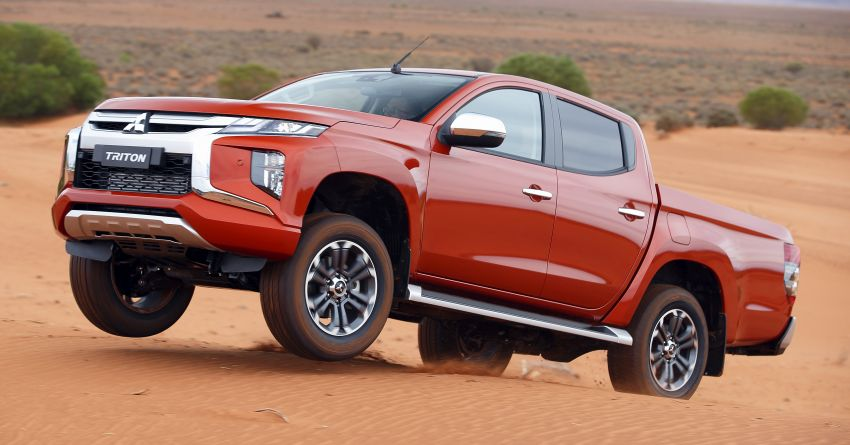 2019 Mitsubishi Triton facelift debuts in Thailand – updated design, new six-speed auto, improved safety Image #886615