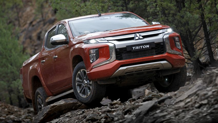 2019 Mitsubishi Triton facelift debuts in Thailand – updated design, new six-speed auto, improved safety Image #886619