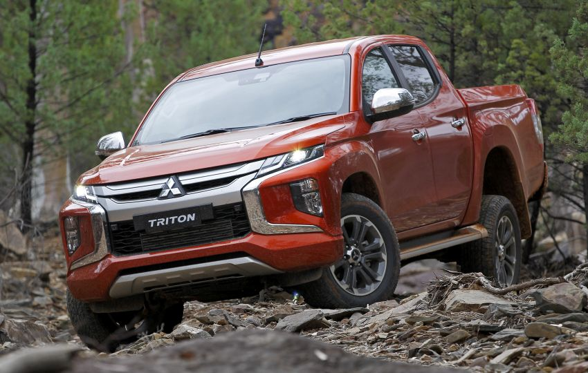 2019 Mitsubishi Triton facelift debuts in Thailand – updated design, new six-speed auto, improved safety Image #886620