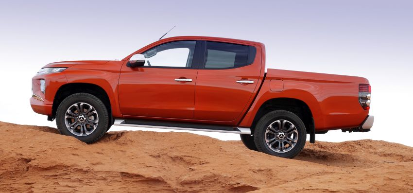 2019 Mitsubishi Triton facelift debuts in Thailand – updated design, new six-speed auto, improved safety Image #886621
