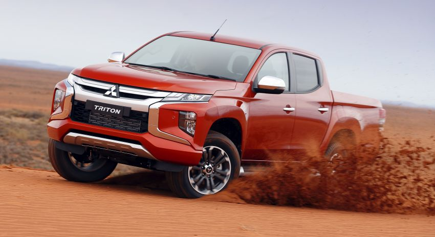 2019 Mitsubishi Triton facelift debuts in Thailand – updated design, new six-speed auto, improved safety Image #886622