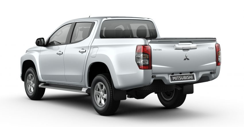 2019 Mitsubishi Triton facelift debuts in Thailand – updated design, new six-speed auto, improved safety Image #886602