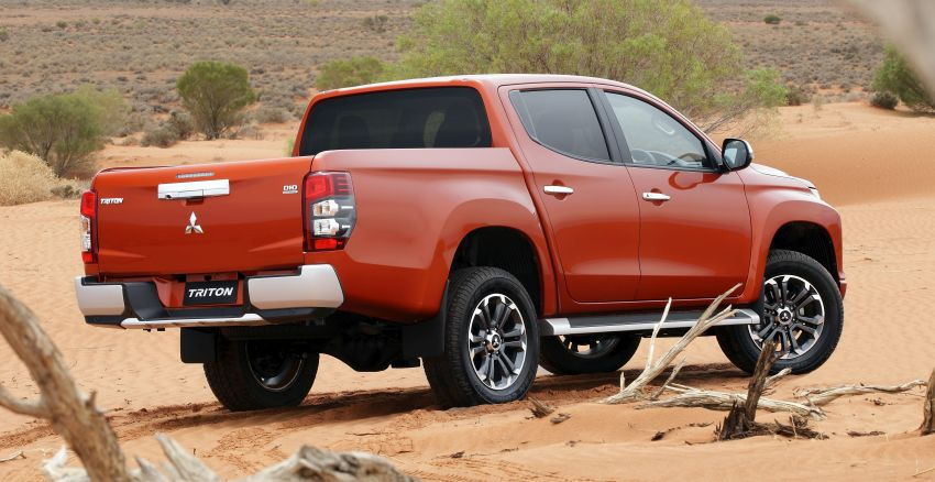 2019 Mitsubishi Triton facelift debuts in Thailand – updated design, new six-speed auto, improved safety Image #886623