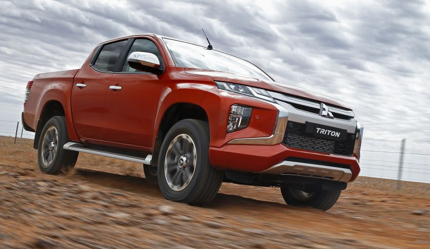 2019 Mitsubishi Triton facelift debuts in Thailand – updated design, new six-speed auto, improved safety Image #886628
