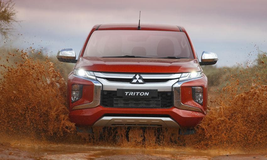2019 Mitsubishi Triton facelift debuts in Thailand – updated design, new six-speed auto, improved safety Image #886629