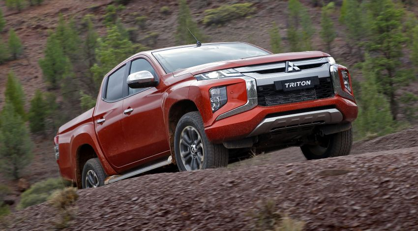 2019 Mitsubishi Triton facelift debuts in Thailand – updated design, new six-speed auto, improved safety Image #886630
