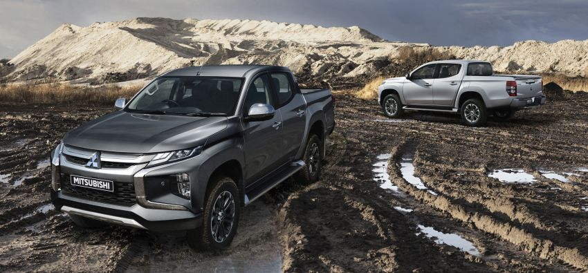 2019 Mitsubishi Triton facelift debuts in Thailand – updated design, new six-speed auto, improved safety Image #886631