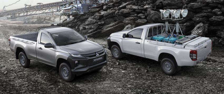 2019 Mitsubishi Triton facelift debuts in Thailand – updated design, new six-speed auto, improved safety Image #886633