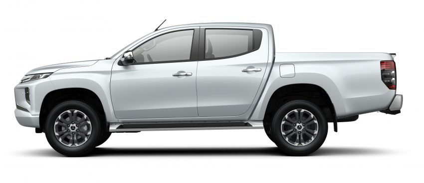 2019 Mitsubishi Triton facelift debuts in Thailand – updated design, new six-speed auto, improved safety Image #886603