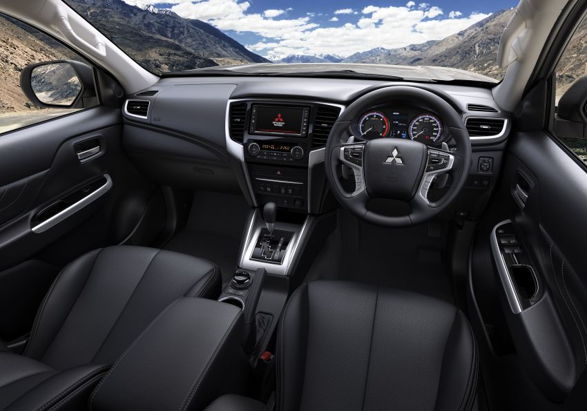 2019 Mitsubishi Triton facelift debuts in Thailand – updated design, new six-speed auto, improved safety Image #886637