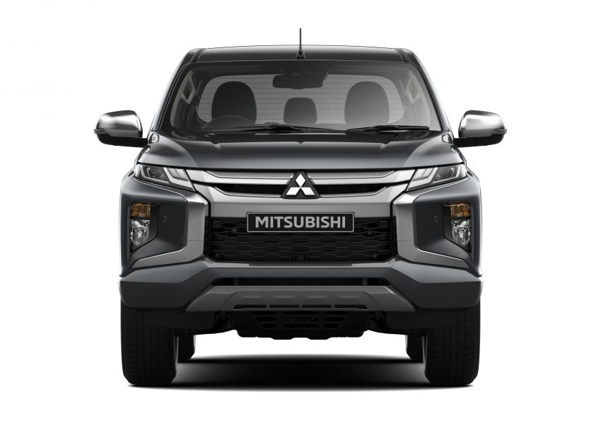 2019 Mitsubishi Triton facelift debuts in Thailand – updated design, new six-speed auto, improved safety Image #886605
