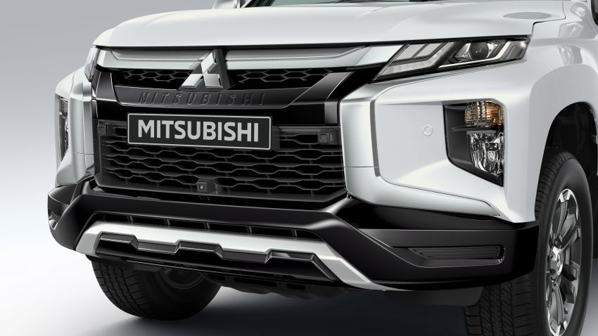 2019 Mitsubishi Triton facelift debuts in Thailand – updated design, new six-speed auto, improved safety Image #886644