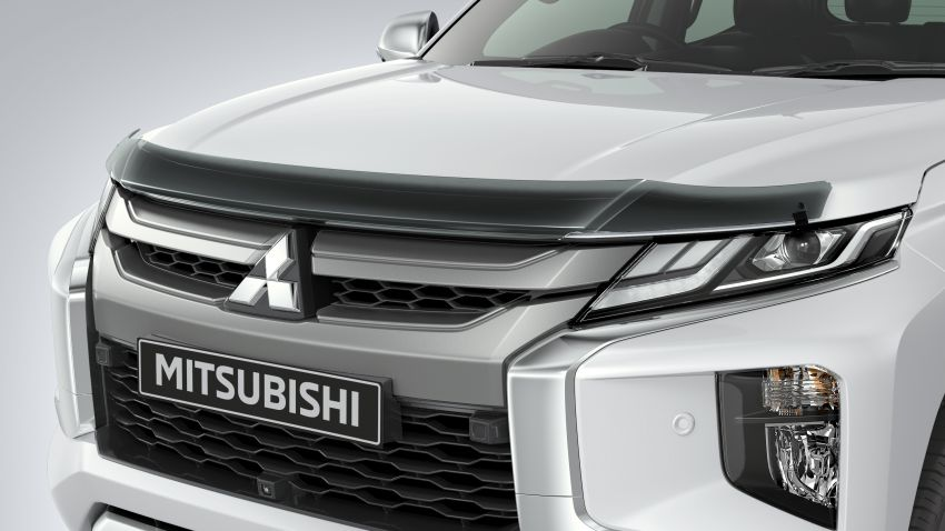 2019 Mitsubishi Triton facelift debuts in Thailand – updated design, new six-speed auto, improved safety Image #886646