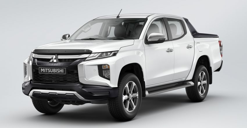 2019 Mitsubishi Triton facelift debuts in Thailand – updated design, new six-speed auto, improved safety Image #886641