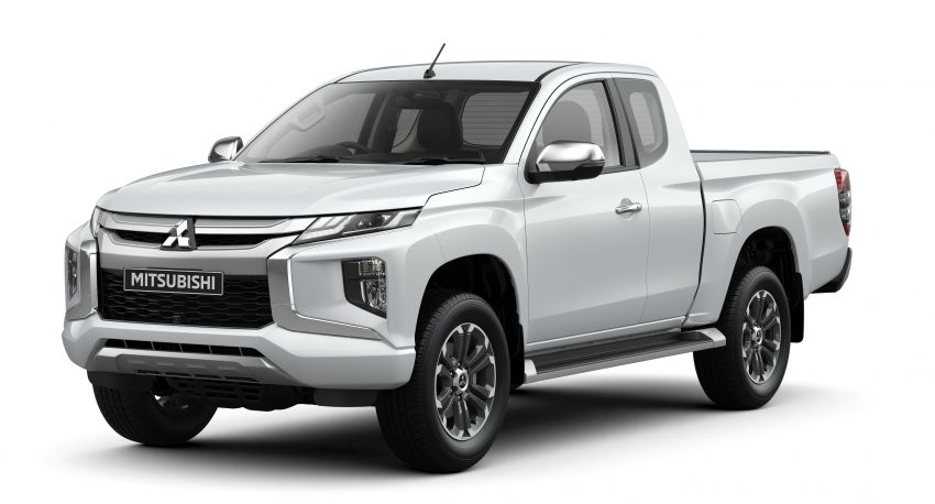 2019 Mitsubishi Triton facelift debuts in Thailand – updated design, new six-speed auto, improved safety Image #886607