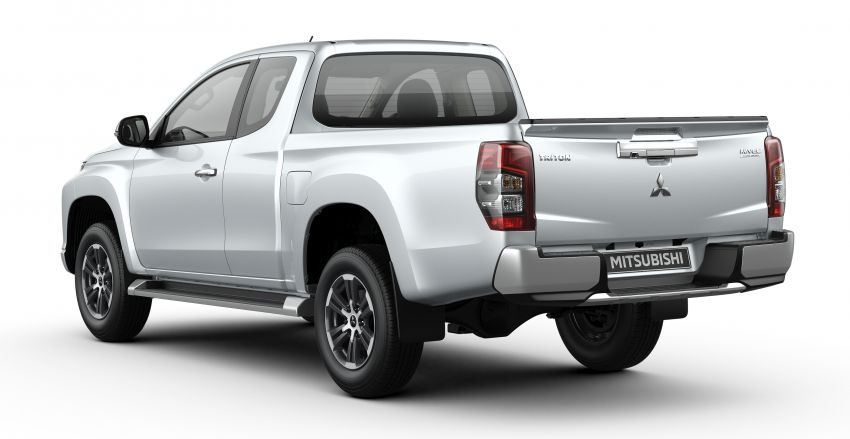 2019 Mitsubishi Triton facelift debuts in Thailand – updated design, new six-speed auto, improved safety Image #886608