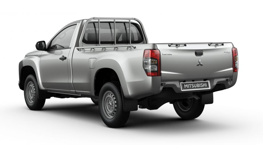 2019 Mitsubishi Triton facelift debuts in Thailand – updated design, new six-speed auto, improved safety Image #886610