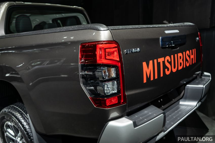 2019 Mitsubishi Triton facelift debuts in Thailand – updated design, new six-speed auto, improved safety Image #886755