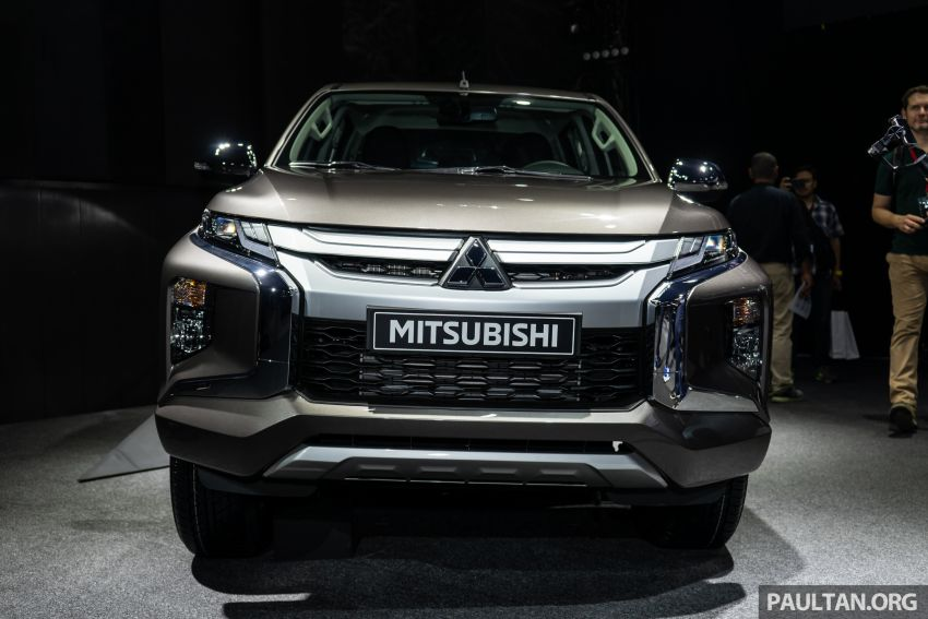 2019 Mitsubishi Triton facelift debuts in Thailand – updated design, new six-speed auto, improved safety Image #886760