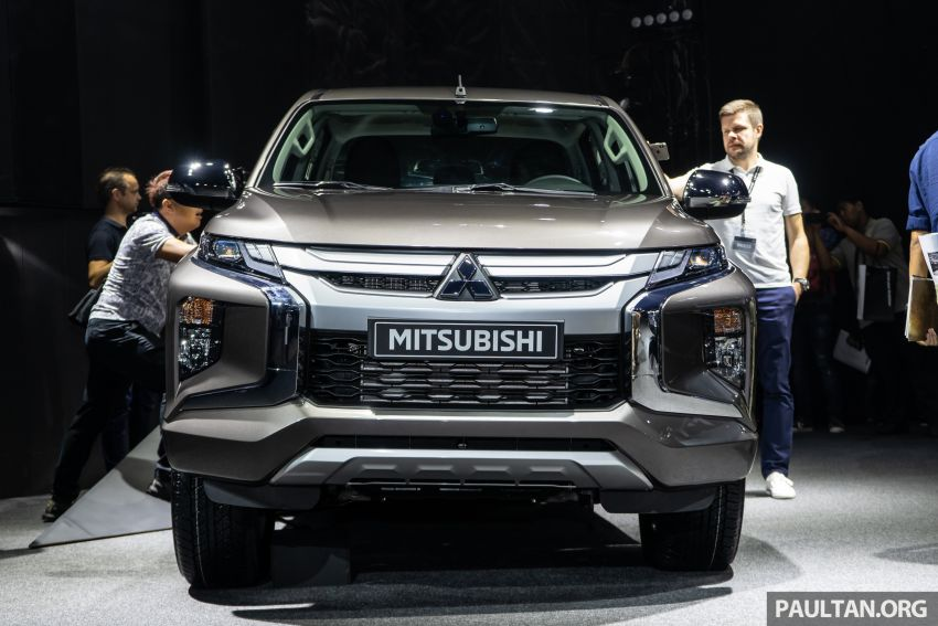 2019 Mitsubishi Triton facelift debuts in Thailand – updated design, new six-speed auto, improved safety Image #886761
