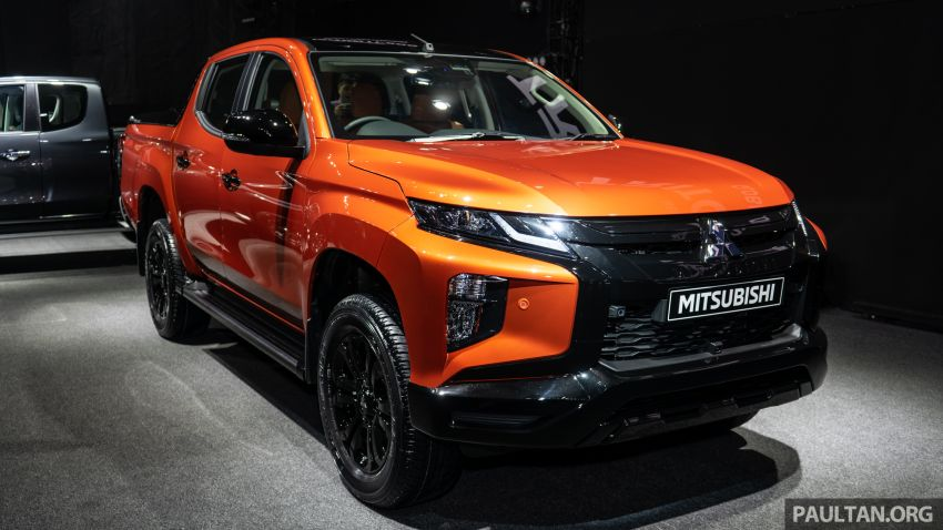 2019 Mitsubishi Triton facelift debuts in Thailand – updated design, new six-speed auto, improved safety Image #886763
