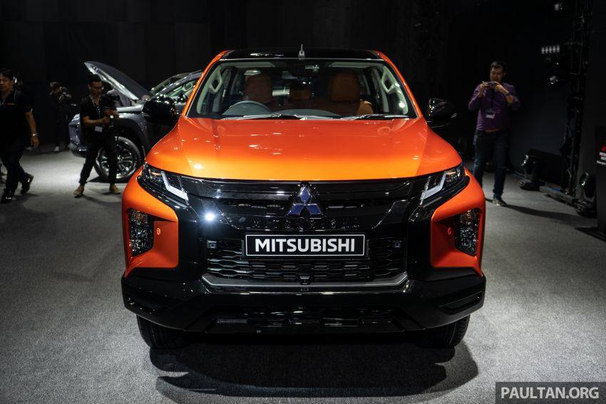 2019 Mitsubishi Triton facelift debuts in Thailand – updated design, new six-speed auto, improved safety Image #886764
