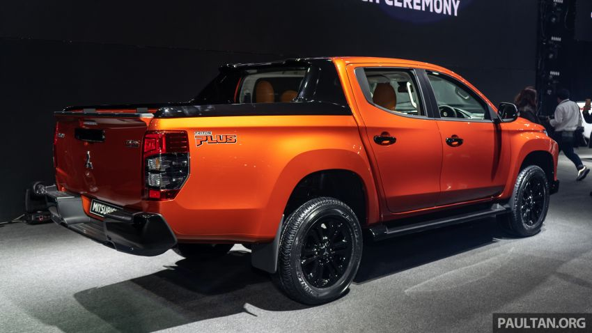 2019 Mitsubishi Triton facelift debuts in Thailand – updated design, new six-speed auto, improved safety Image #886765