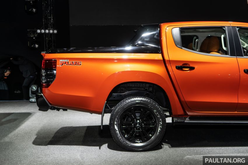 2019 Mitsubishi Triton facelift debuts in Thailand – updated design, new six-speed auto, improved safety Image #886766