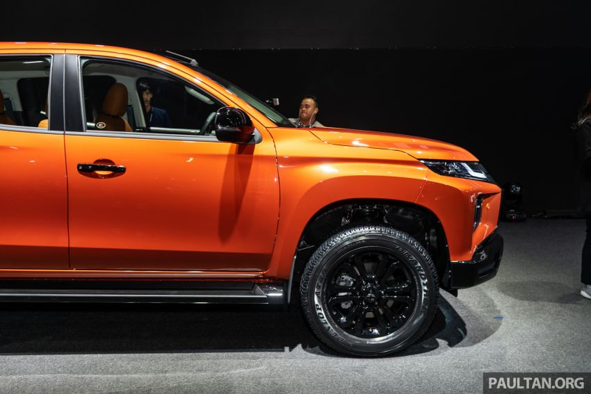 2019 Mitsubishi Triton facelift debuts in Thailand – updated design, new six-speed auto, improved safety Image #886767
