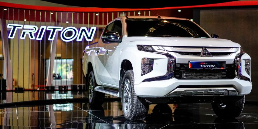2019 Mitsubishi Triton now open for booking in M'sia – launch in Q1 next year, 5 variants, from RM100k-140k Image #892431