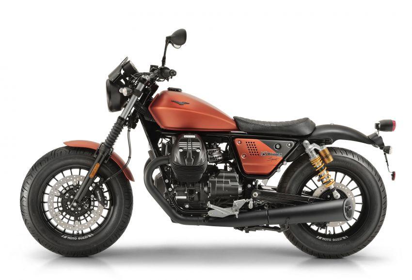2018 EICMA: 2019 Moto Guzzi V9 Bobber Sport shown Image #885707