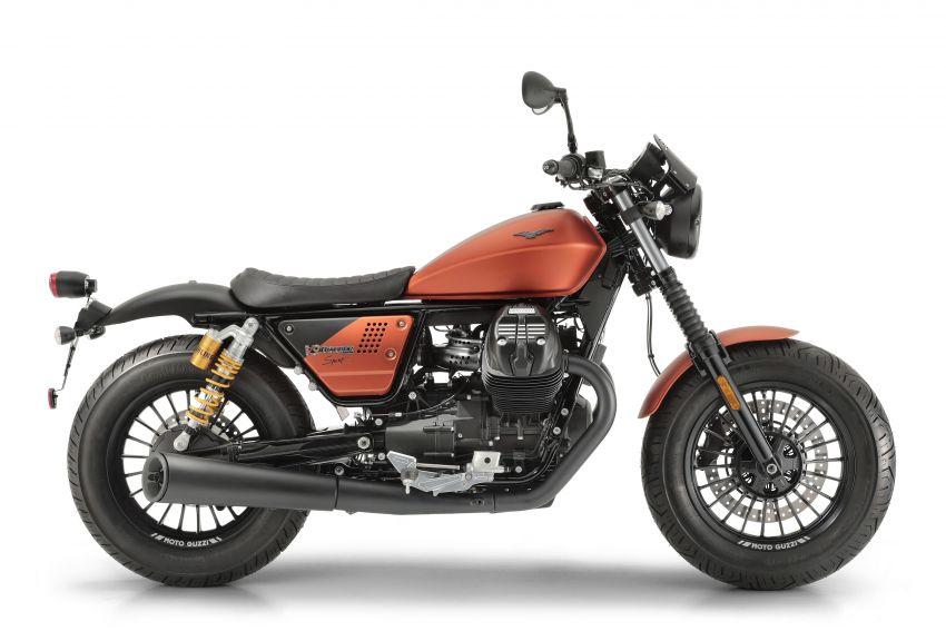 2018 EICMA: 2019 Moto Guzzi V9 Bobber Sport shown Image #885708