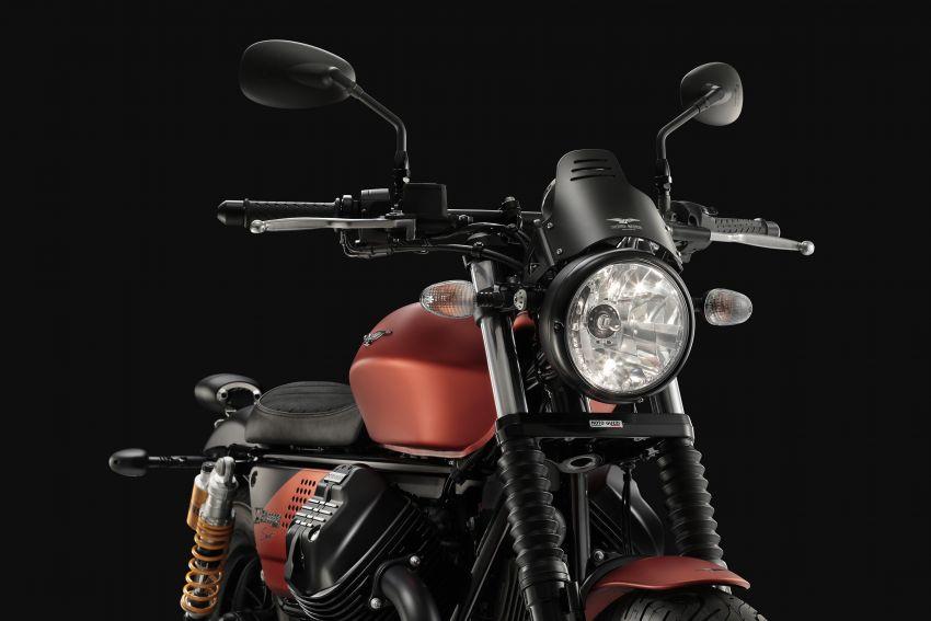 2018 EICMA: 2019 Moto Guzzi V9 Bobber Sport shown Image #885709