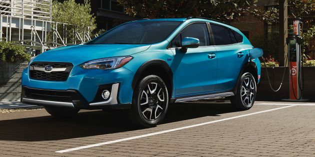 Ahead Of The 2018 Los Angeles Auto Show Subaru Is Presenting Its First Ever Plug In Hybrid Model With All New Crosstrek