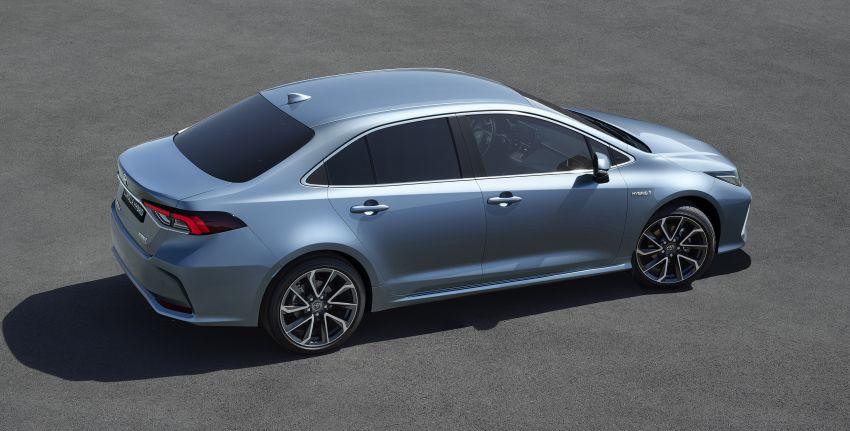 2019 Toyota Corolla sedan – 12th-gen makes its debut Image #889515