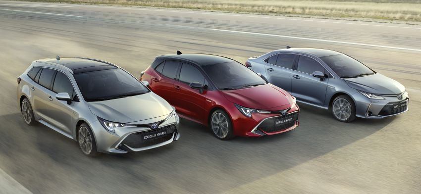 2019 Toyota Corolla sedan – 12th-gen makes its debut Image #889516